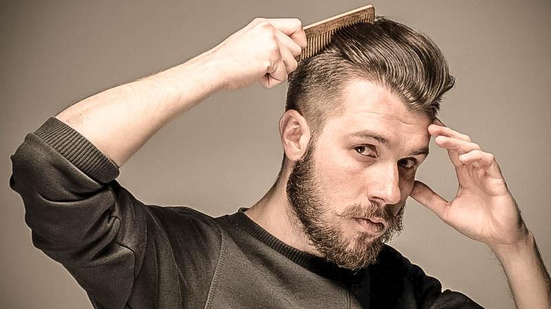 Barbearia Tradicional - cabelo masculino